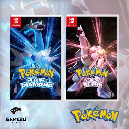 [Pre Order] Nintendo Switch Pokémon Brilliant Diamond / Shining Pearl (ENG/CHI) (ETA: 19/11/2021)